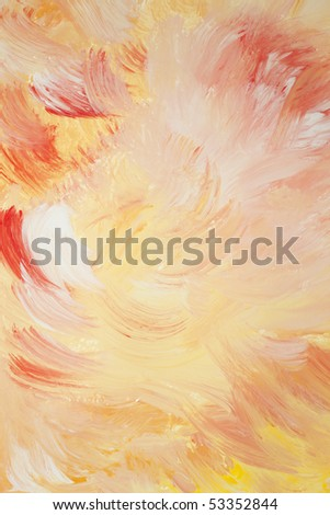 Red, yellow and white background abstraction
