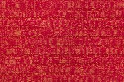 Red yellow texture knitted fabric