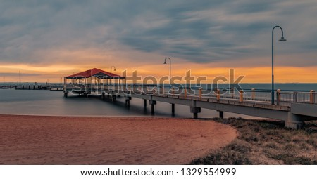 redcliffe jetty queensland #1329554999