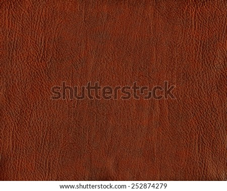 reddish-brown leather texture