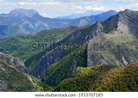 Redes Natural Park, Asturias, Spain. Foto stock ©