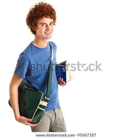 Redhead student portrait