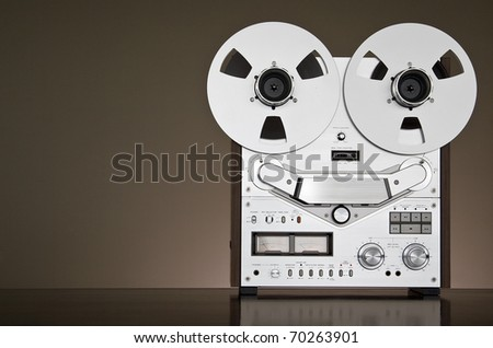 Reel-to-reel Stereo Recorder Deck