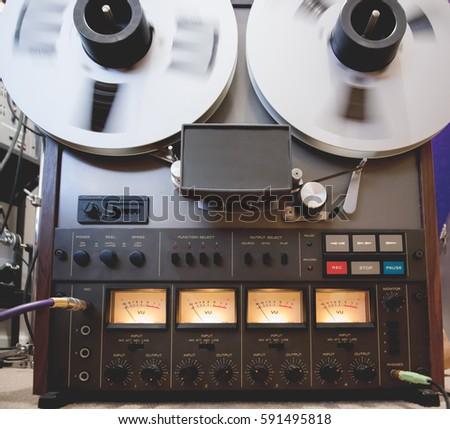 Reel to Reel Tape Player #591495818