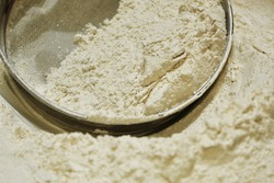 Refined Wheat flour with a refiner