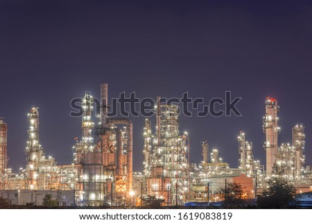 Refinery and oil storage tank, natural gas industry, petrochemical industry