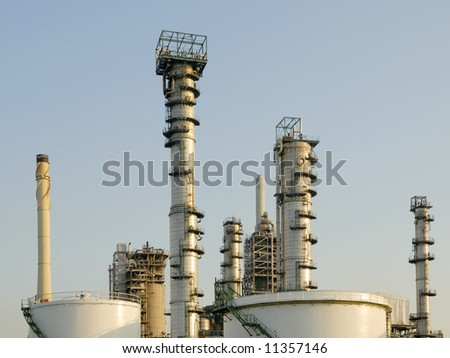 refinery plant at Rotterdam, the Netherlands