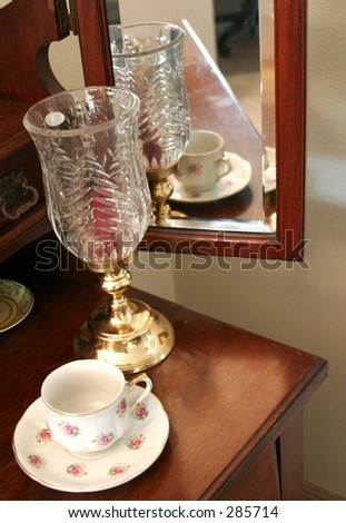 Reflected Teacup