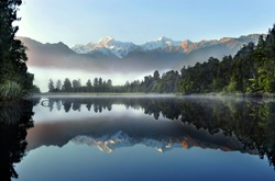Reflection of Lake Matheson