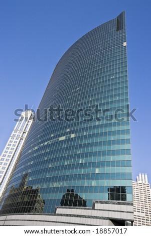 Reflections in the skyscraper - Chicago, IL.