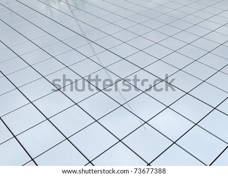 Reflective floor