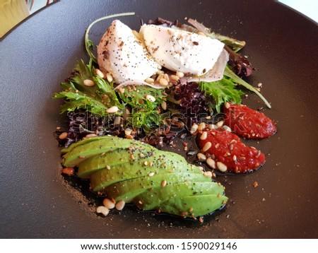 Refreshing Gourmet Avocado Cheese Salad