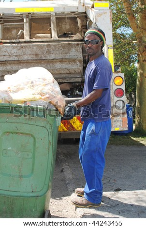 Refuse removal municipal worker