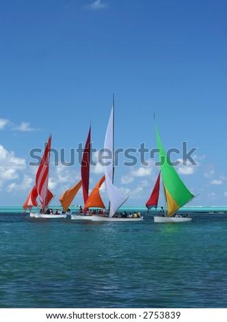 Regatta in Mauritius