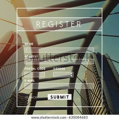 Register Username Account Summit Banner #630084683