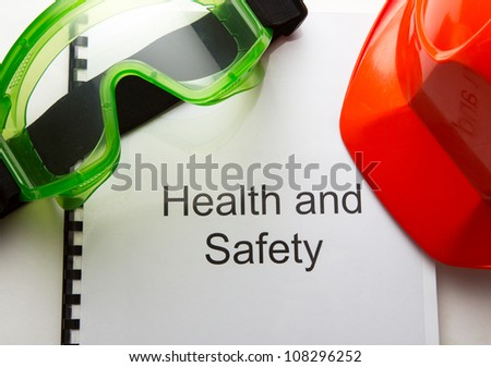 Register with goggles and helmet