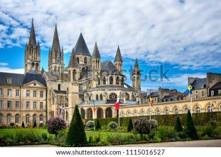 Reims: Abbaye aux Hommes, Champagne, France