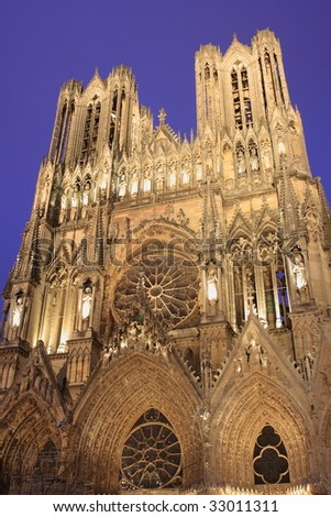 Reims: Cathedral of Notre-Dame, where the French kings were once crowned