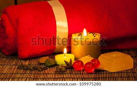 Relaxation Set - stock photo