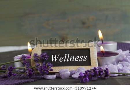 relaxing and wellbeing