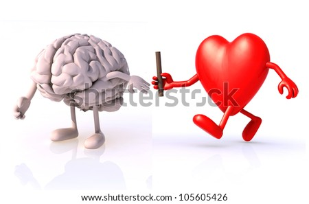 relay between brain and heart, the concept of organ donation or cooperation, exchange of expertise, knowledge