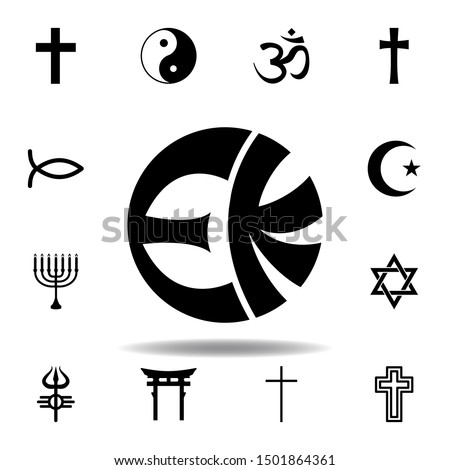 religion symbol, eckankar icon. Element of religion symbol illustration. Signs and symbols icon can be used for web, logo, mobile app, UI, UX Stock photo ©