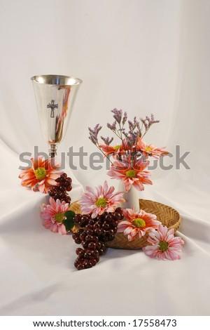 religious communion still life