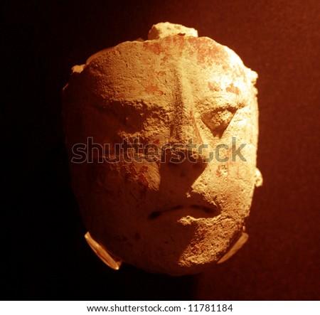 Religious mayan mask