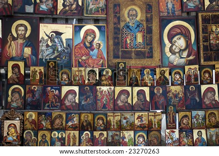 Religious orthodox icons