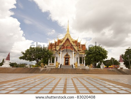 Religious people in Thailand and to respect and worship.