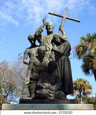 Religious statue in St. augustine, Florida