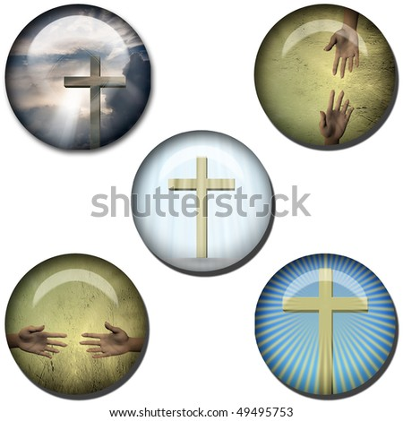 Religious Symbol Web Buttons