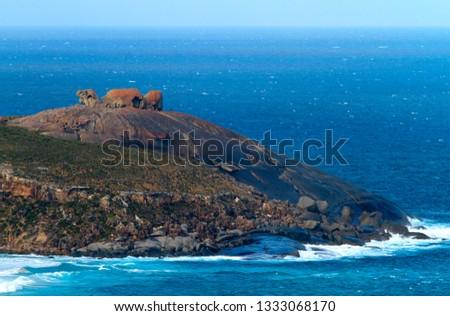 Remarkable Rocks, Flinders Chase National Park, Kangaroo Island, South Australia, Australia.