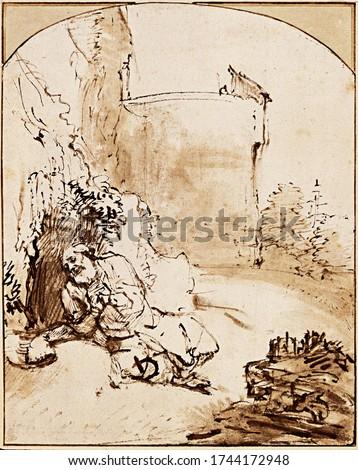 Rembrandt Painting - Old Master Artwork