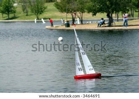 Remote Boat #3464691