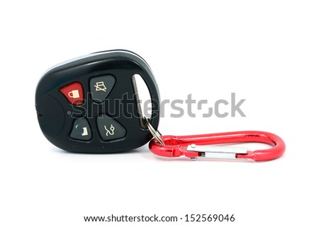 Remote control cars, isolated on the white background