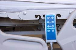 Remote control for adjust level sick bed at hospital room