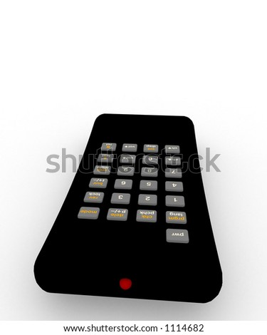 remote control for TV or other electronic device