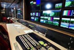Remote control in a television studio