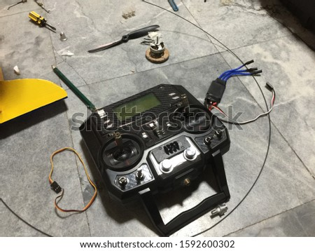 Remote control radio controlled aircraft