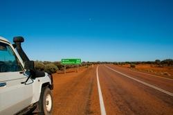 Remote Highway in Western Australia