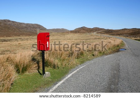 Remote Postbox, Lewis, Outer Hebrides