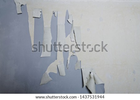 Removing old wallpaper from the wall