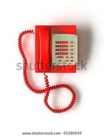 Ren Phone Render - stock photo