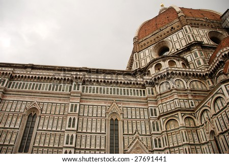 Renaissance Architecture on Renaissance Architecture In The Center Of Florence  Italy Stock Photo