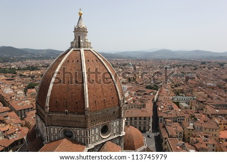 Renaissance cathedral Santa Maria del Fiore in Florence, Italy, Europe