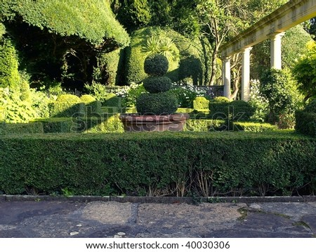 Renaissance Gardens with Topiary Landscaping