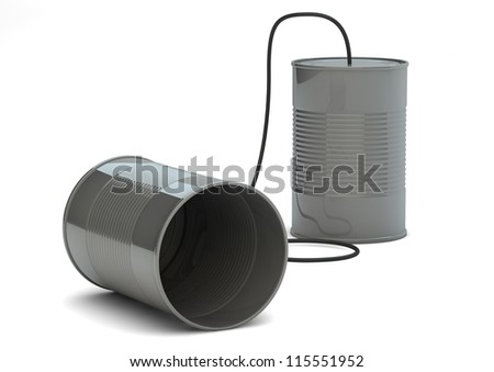 render of a cans phone