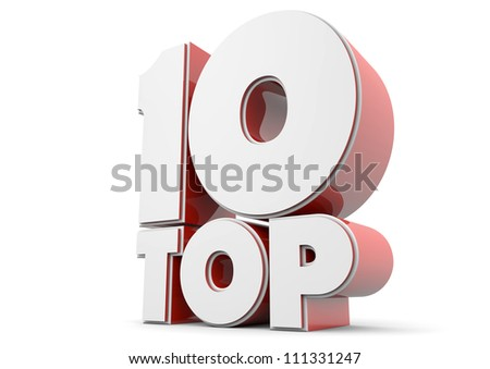render of a text showing top 10