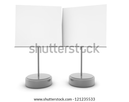 render of two note holders